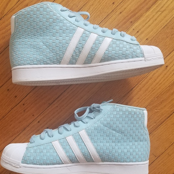 58ab59e85c1d adidas Other - Adidas Pro Model Woven Sneakers Light Blue 11